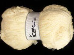 500 gr ICE YARNS SALE LUXURY-PREMIUM (66% Wool 34% Organic Cotton) Yarn Cream