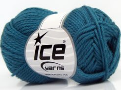 Lot of 8 Skeins Ice Yarns PURE COTTON (100% Cotton) Yarn Dark Teal