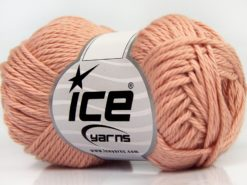 Lot of 8 Skeins Ice Yarns PURE COTTON (100% Cotton) Yarn Light Pink