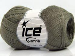 Lot of 8 Skeins Ice Yarns CASHMERE VISCOSE (15% Cashmere 85% Viscose) Yarn Light Khaki