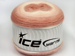 Lot of 2 x 150gr Skeins Ice Yarns CAKES MOHAIR (20% Mohair 20% Wool) Yarn Pink Shades