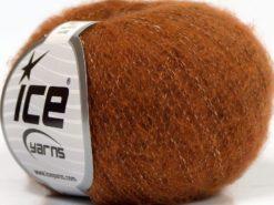 Lot of 10 Skeins Ice Yarns MERINO SUPERFINE COTTON (66% Extrafine Merino Wool 16% Cotton) Yarn Gold