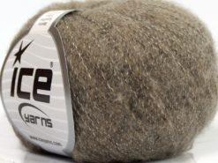 Lot of 10 Skeins Ice Yarns MERINO SUPERFINE COTTON (66% Extrafine Merino Wool 16% Cotton) Yarn Camel