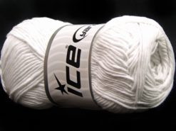 Lot of 4 x 100gr Skeins Ice Yarns NATURAL COTTON (100% Cotton) Yarn White