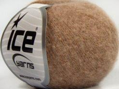 Lot of 10 Skeins Ice Yarns CARESS BABY ALPACA (30% Baby Alpaca 31% Extrafine Merino Wool) Yarn Antique Pink