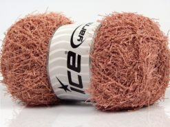 Lot of 4 x 100gr Skeins Ice Yarns SCRUBBER TWIST Yarn Powder Pink