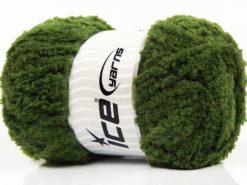 Lot of 4 x 100gr Skeins Ice Yarns PANDA (100% MicroFiber) Yarn Jungle Green