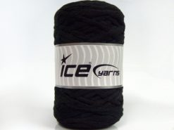 Lot of 2 x 200gr Skeins Ice Yarns NATURAL COTTON CHUNKY (100% Cotton) Yarn Black