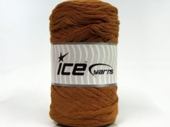 Lot of 2 x 200gr Skeins Ice Yarns NATURAL COTTON CHUNKY (100% Cotton) Yarn Brown