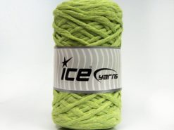Lot of 2 x 200gr Skeins Ice Yarns NATURAL COTTON CHUNKY (100% Cotton) Yarn Light Green