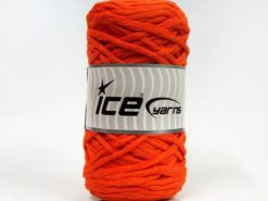 Lot of 2 x 200gr Skeins Ice Yarns NATURAL COTTON CHUNKY (100% Cotton) Yarn Orange