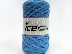 Lot of 2 x 200gr Skeins Ice Yarns NATURAL COTTON CHUNKY (100% Cotton) Yarn Light Blue