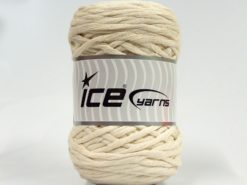 Lot of 2 x 200gr Skeins Ice Yarns NATURAL COTTON CHUNKY (100% Cotton) Yarn Ecru