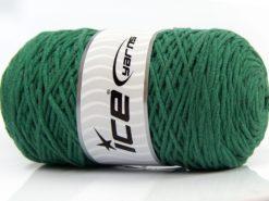 250 gr ICE YARNS MACRAME COTTON (100% Cotton) Hand Knitting Yarn Grass Green