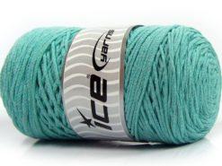 250 gr ICE YARNS MACRAME COTTON (100% Cotton) Hand Knitting Yarn Mint Green