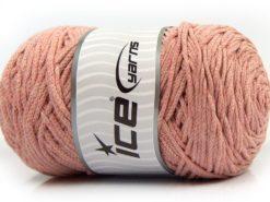250 gr ICE YARNS MACRAME COTTON BULKY (100% Cotton) Yarn Powder Pink