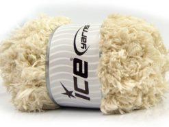 Lot of 2 x 200gr Skeins Ice Yarns LAMBKIN (100% MicroFiber) Yarn Ecru