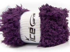 Lot of 2 x 200gr Skeins Ice Yarns LAMBKIN (100% MicroFiber) Yarn Purple