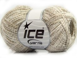 Lot of 8 Skeins Ice Yarns SALE SUMMER (70% Cotton) Yarn Camel White
