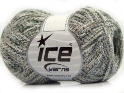 Lot of 8 Skeins Ice Yarns SALE SUMMER (70% Cotton) Yarn Beige White Black Green