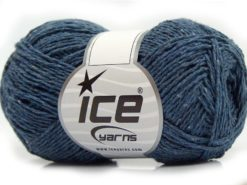 Lot of 8 Skeins Ice Yarns SALE SUMMER (100% Cotton) Yarn Jeans Blue