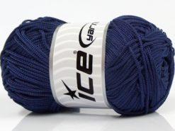 Lot of 4 x 100gr Skeins Ice Yarns MACRAME CORD Hand Knitting Yarn Dark Purple
