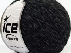 Lot of 8 Skeins Ice Yarns SALE WINTER (30% Wool) Hand Knitting Yarn Black Grey