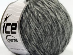 Lot of 8 Skeins Ice Yarns SALE PLAIN Hand Knitting Yarn Grey Shades