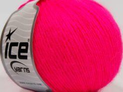 Lot of 8 Skeins Ice Yarns SALE WINTER (30% Wool) Hand Knitting Yarn Neon Pink