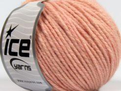 Lot of 8 Skeins Ice Yarns SALE WINTER (10% Wool) Yarn Light Salmon
