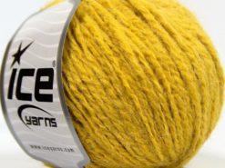 Lot of 8 Skeins Ice Yarns SALE PLAIN Hand Knitting Yarn Gold
