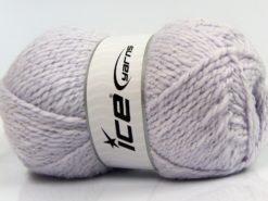 Lot of 4 x 100gr Skeins Ice Yarns BABY WOOL GLITZ (30% Wool) Yarn Light Lilac