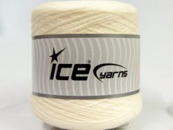 400 gr ICE YARNS BABY GOLD CONE Hand Knitting Yarn Cream