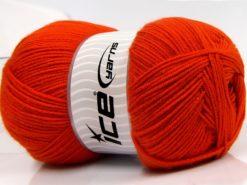 400 gr ICE YARNS WOOL ARAN 400 (35% Wool) Hand Knitting Yarn Gold