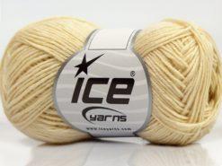 Lot of 8 Skeins Ice Yarns SALE WINTER (50% Wool) Hand Knitting Yarn Cream