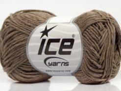 Lot of 8 Skeins Ice Yarns SALE SUMMER (50% Cotton) Hand Knitting Yarn Camel