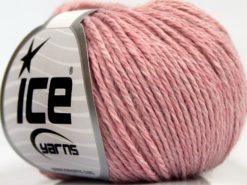 Lot of 8 Skeins Ice Yarns SALE WINTER (25% Wool 15% Viscose) Yarn Pink