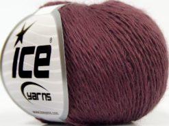 Lot of 8 Skeins Ice Yarns SALE WINTER (50% Wool) Hand Knitting Yarn Maroon