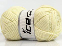 Lot of 4 x 100gr Skeins Ice Yarns SALE WINTER Hand Knitting Yarn Light Yellow