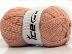 Lot of 4 x 100gr Skeins Ice Yarns SOLID SOCK (75% Superwash Wool) Yarn Powder Pink