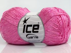Lot of 8 Skeins Ice Yarns SUMMER FINE (67% Cotton 33% Viscose) Yarn Pink