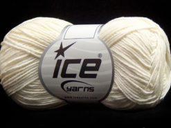 Lot of 8 Skeins Ice Yarns PURE COTTON FINE (100% Cotton) Yarn Ecru