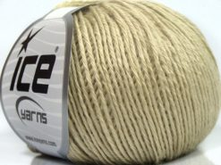 Lot of 8 Skeins Ice Yarns SALE PLAIN Hand Knitting Yarn Light Khaki