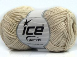Lot of 8 Skeins Ice Yarns SALE SUMMER (50% Cotton) Hand Knitting Yarn Ecru