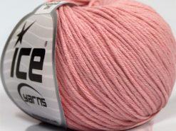 Lot of 8 Skeins Ice Yarns BABY SUMMER DK (50% Cotton) Yarn Light Pink