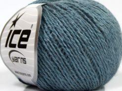 Lot of 8 Skeins Ice Yarns SALE WINTER (50% Wool) Hand Knitting Yarn Indigo Blue