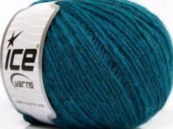 Lot of 8 Skeins Ice Yarns SALE WINTER (30% Wool) Hand Knitting Yarn Dark Teal
