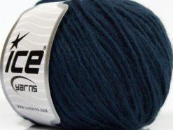 Lot of 8 Skeins Ice Yarns SALE WINTER (30% Wool) Hand Knitting Yarn Dark Navy
