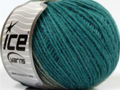 Lot of 8 Skeins Ice Yarns SALE WINTER (25% Wool) Yarn Blue Shades Turquoise Camel beige