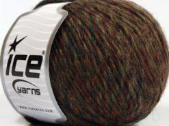 Lot of 8 Skeins Ice Yarns WOOL CORD DK (40% Wool) Yarn Red Dark Green Brown Shades